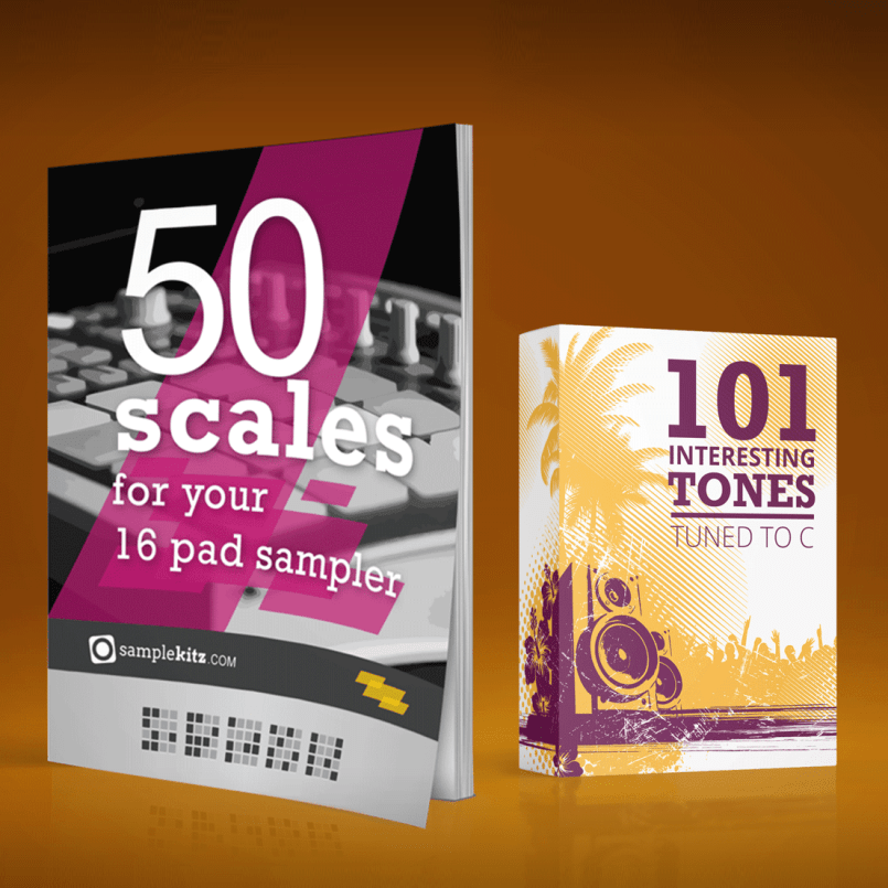 50 Scales for your 16 pad sampler & 101 Tones in C